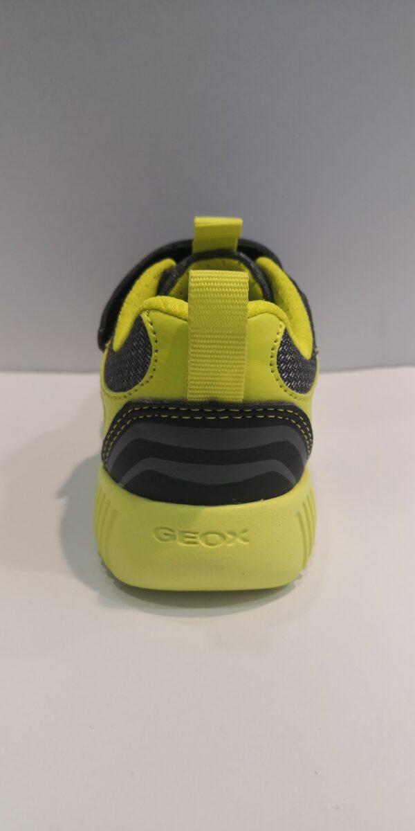 GEOX SCARPA BLACK/LIME COD:J946TA