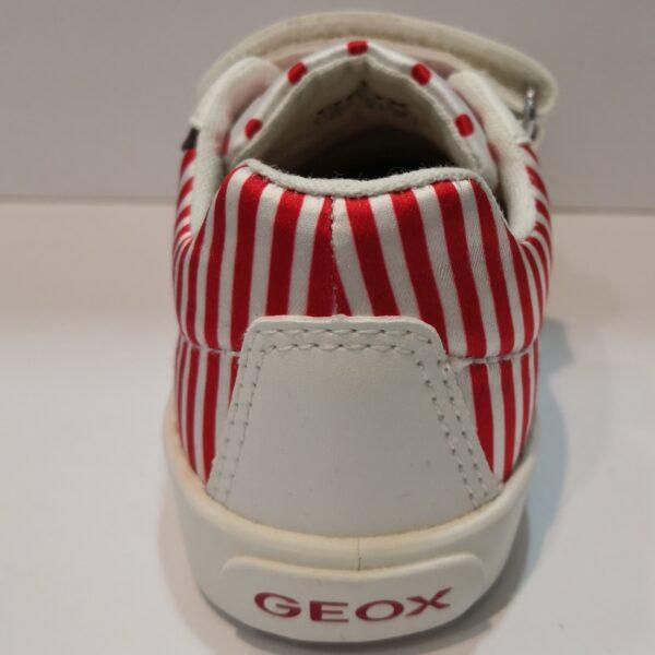GEOX SCARPA WHITE-RED ART:BO2DSA